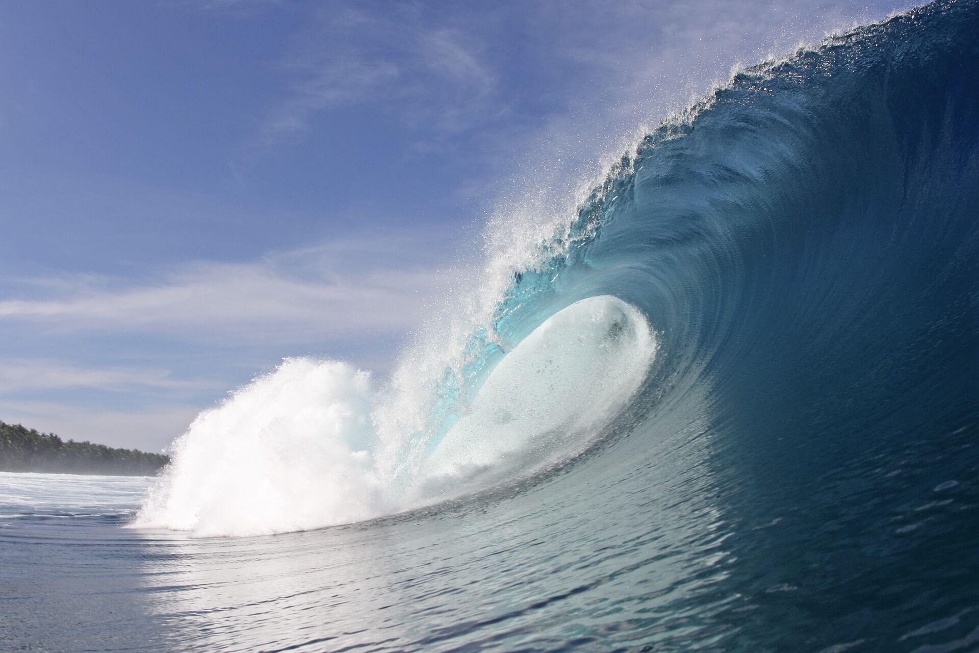Navegar depende de la altura de las olas