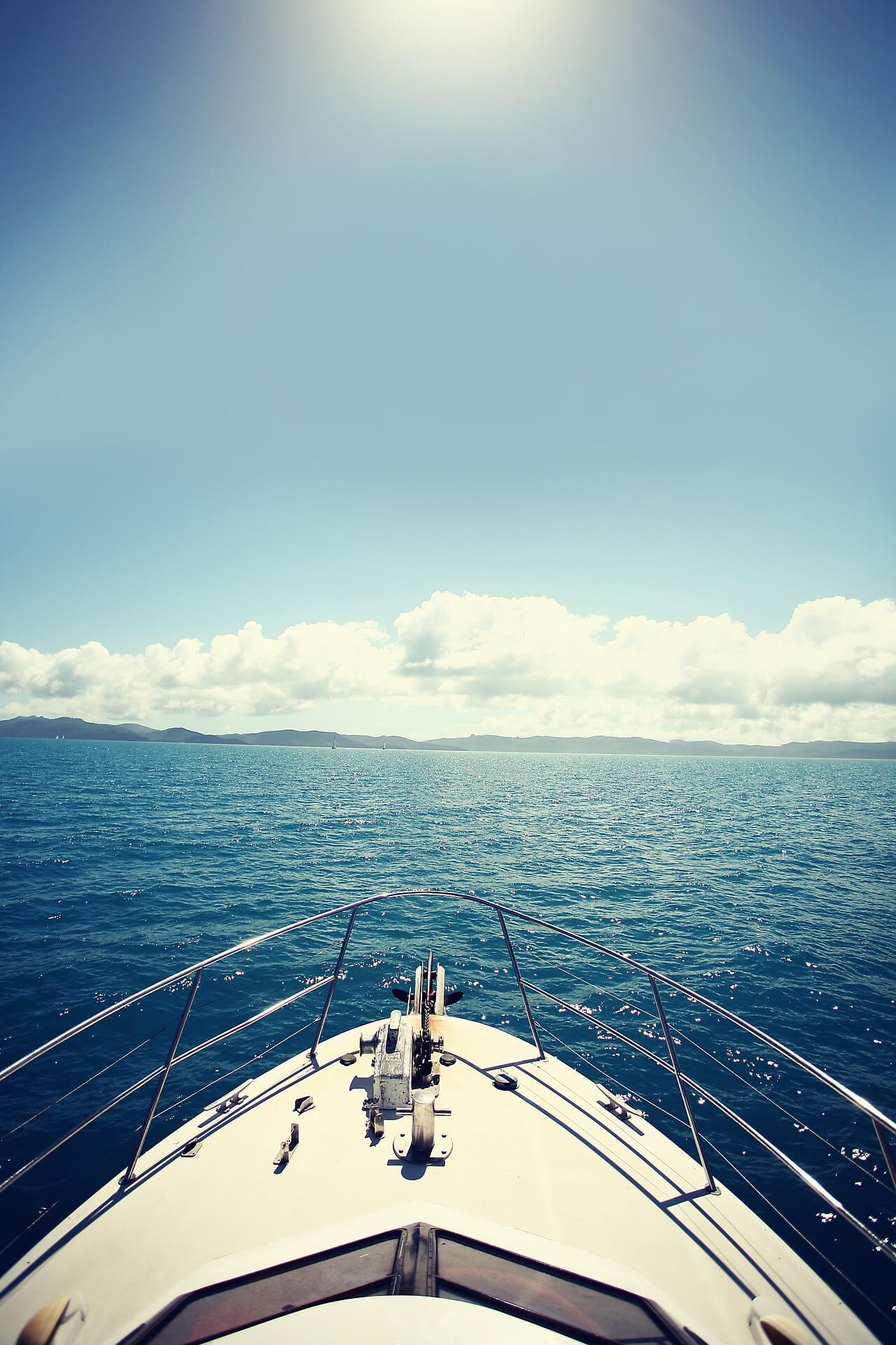 Navegar por la costa de Mallorca